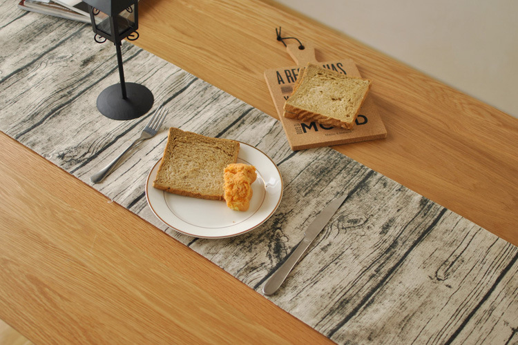 Fyjafon Table Runner Linen/Cotton Table Runners Home Hotel Runner Table Pastoral Rustic Runners 30*180cm/30*200cm/30*220cm