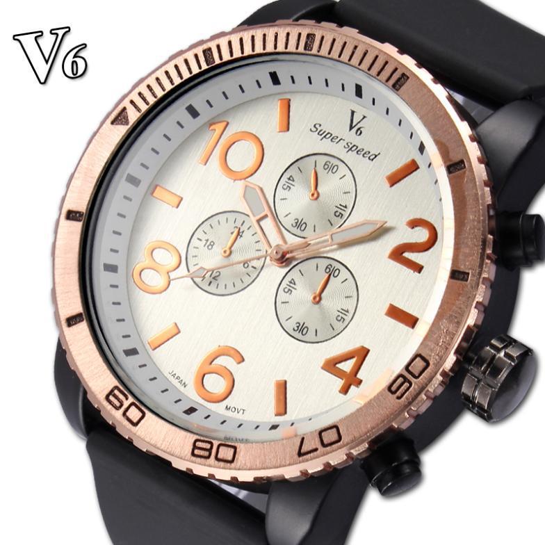 V6 2015 New Fashion Sports Watches Luxury Watches Casual Watch Military Quartz Watch Relogio Masculino Clock