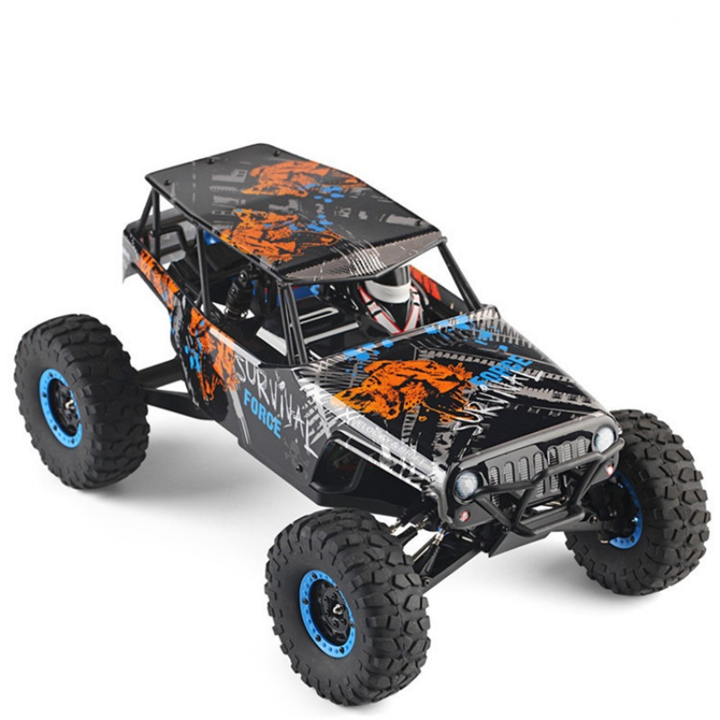 Top Quality RC truck model 10428-A2 2.4G 1:10 46CM 4WD Remote Control Rock Climbing Vehicle Rc Truck Man kids RC model Toy