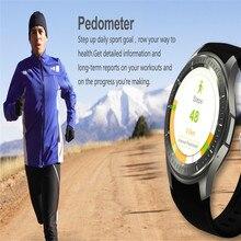 Caliente de La Manera Rwatch DM368 Smartwatch Reloj Bluetooth Inteligente con Pantalla LED Reproductor de Música de La Muñeca De La Salud Pulsera Heart Rate Monitor
