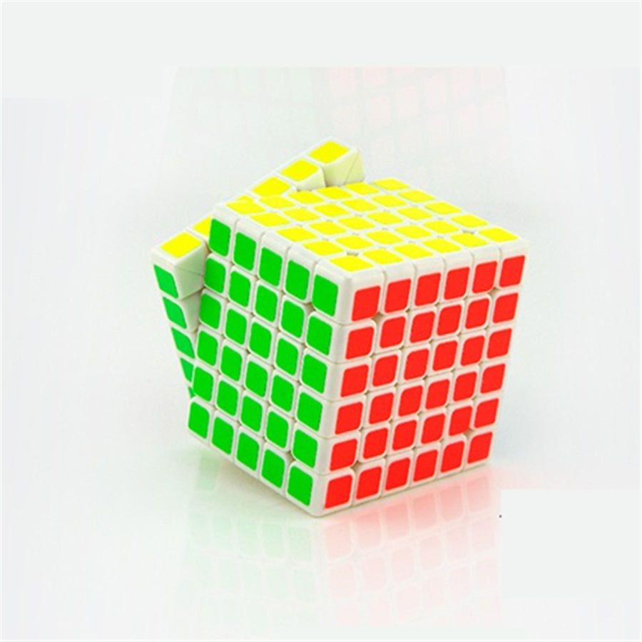 Plastic Magic Cube Puzzle 6x6x6 Speed Cube Fidget Spinner Hand Twist 6x6 Cube Square Mini Neo Cubo Magico Profissional 601761 magic cube iq puzzle star color assorted