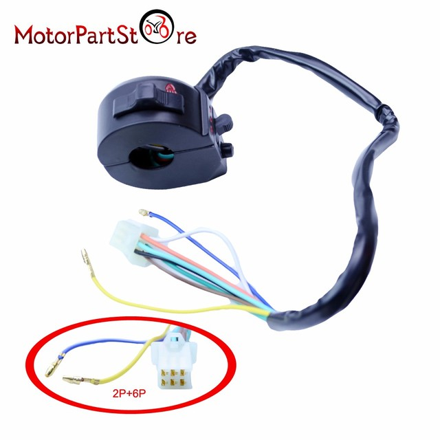 Dual Sport Left Switch Light Turn Signal Horn For Honda XL XR 250 400 650  XR600