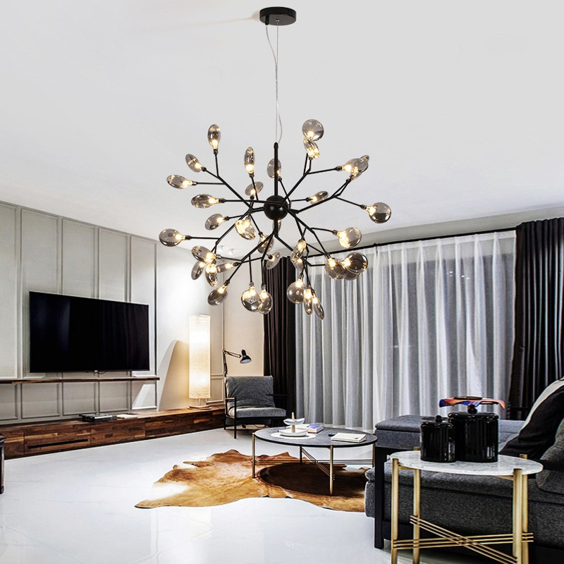 Creative Blade Led Chandeliers Home