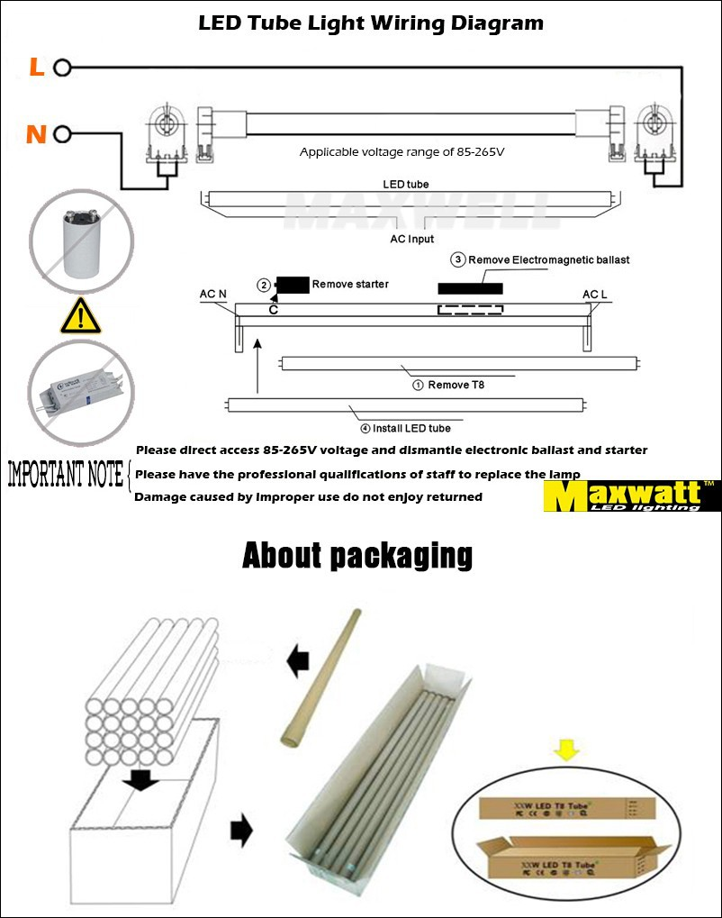 High Quality 100pcs 12w 09m 3ft T8 Led Tube 900mm Fluorescent Light Wiring Diagram For 13 G13