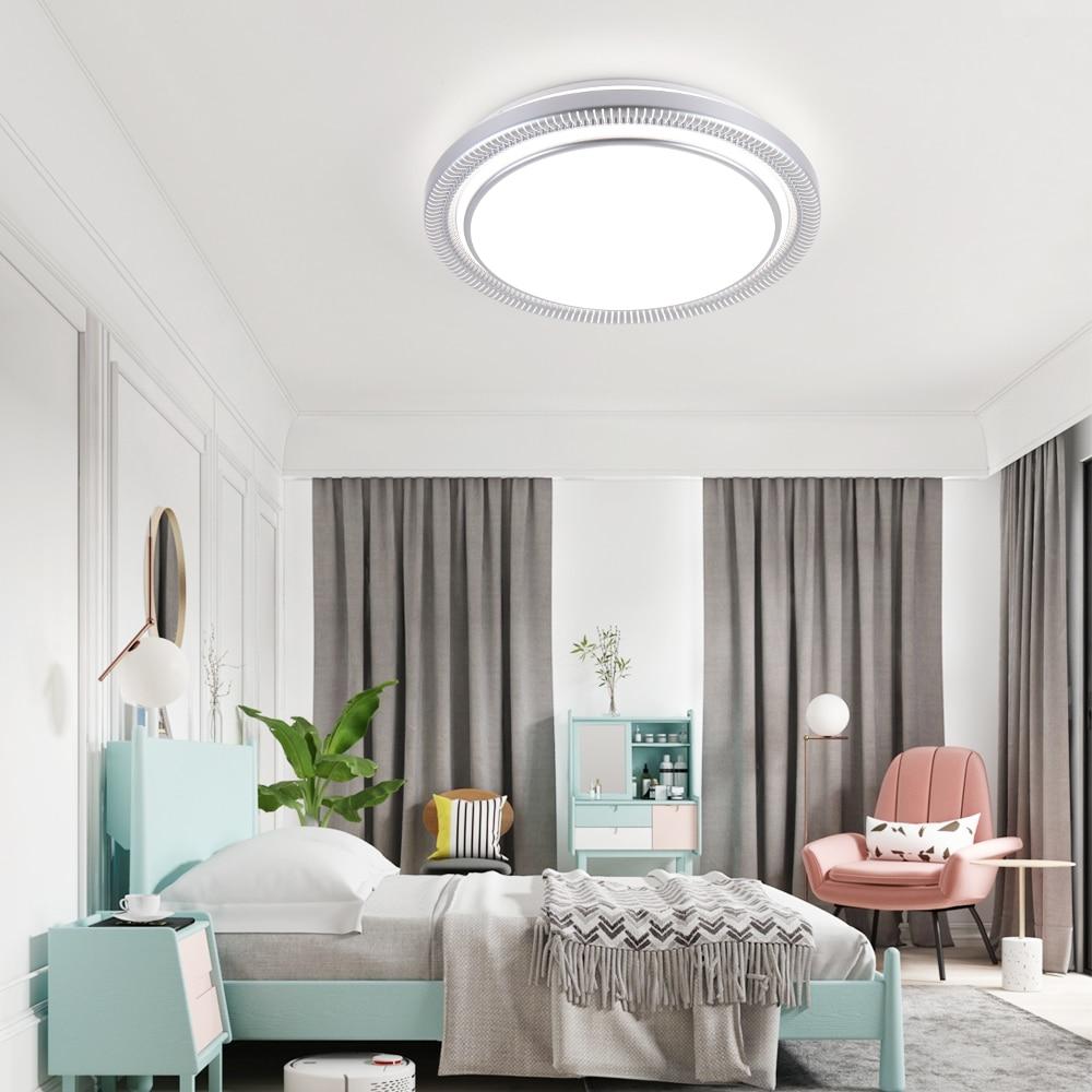 Moderne 220v 80w Ronde LED Plafond Verlichting Lampen Armaturen met Afstandsbediening voor Indoor Thuis Huis Woonkamer keuken Slaapkamer - 4