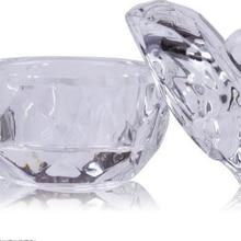 Crystal Glass Dappen Dish Cup Nail Art Acrylic Liquid Makeup Powder Styling Beauty Health