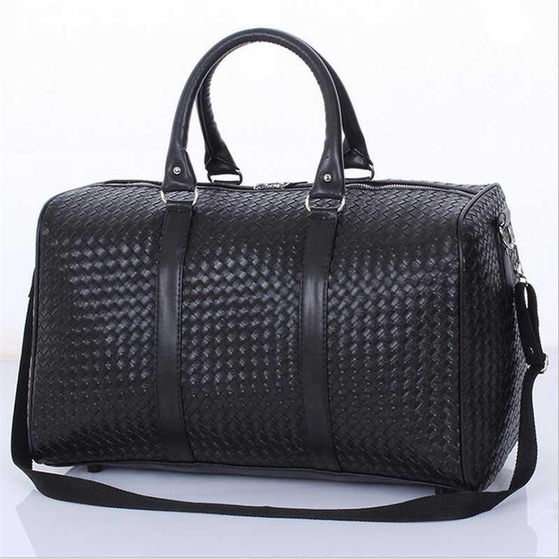 ad6ba0d63bcd Классическая переносная спортивная сумка для мужчин и женщин спортивная  сумка из искусственной кожи для фитнеса Дорожная