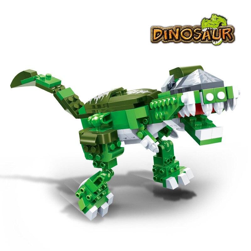 SSTB es Compatible Puissant T Rex Tyrannosaurus Rex Dinosaures Du Jurassique blocs de construction Jouet, 135 pièce