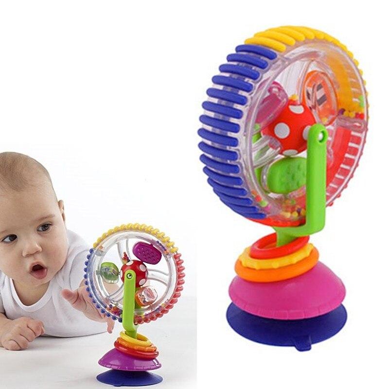 Bébé Jouets Pour Les Nouveau-nés 0-12 Mois Coloré Roue Ferris Bébé Hochets Kid Jouet Mobilité Poussette Éducatifs Sur La lit Juguetes