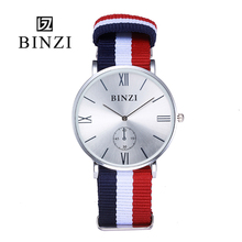 2016 Оптовая Цена Нейлон Часы Бизнес Спорт Японии movt Кварц часы Мужчины Женщины Часы для Унисекс Reloj Hombre 8 шт. в пакет