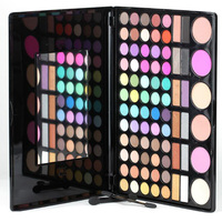New Makeup Palette 78 Colors Eyeshadow Palette Set With Blusher Contour Brushes Luminous Eye Shadow Cosmetics