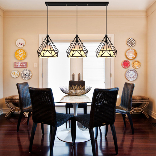 drop lighting. Brilliant Drop Retro Industrial Style One Combo 3pcs Led Drop Light Diamond Shape White  Coffe Lamp Shade Pendant On Drop Lighting R