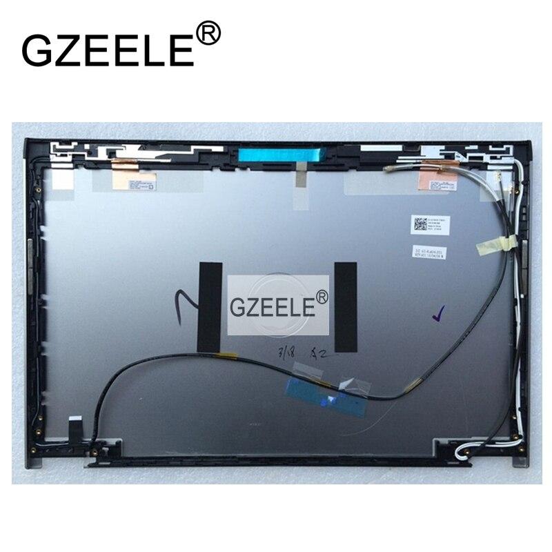 GZEELE Novo LCD Tampa Traseira Assembléia Para Dell Latitude 3330 E3330 074MJD 74MJD 60.4LA04.003 Prata lcd top Case