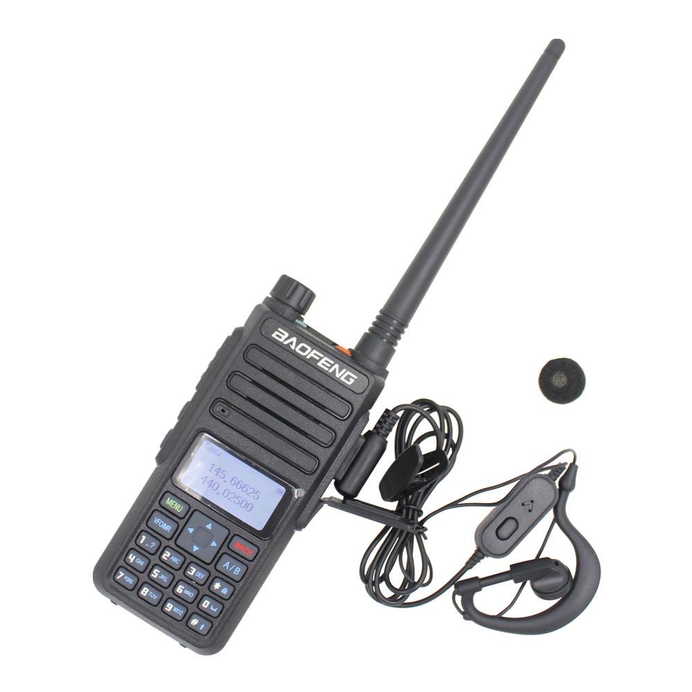 Baofeng talkie-walkie 10KM BF-H6 VHF 136-174MHz UHF 400-520MHz Portable Radio jambon 10W puissant Radio bidirectionnelle