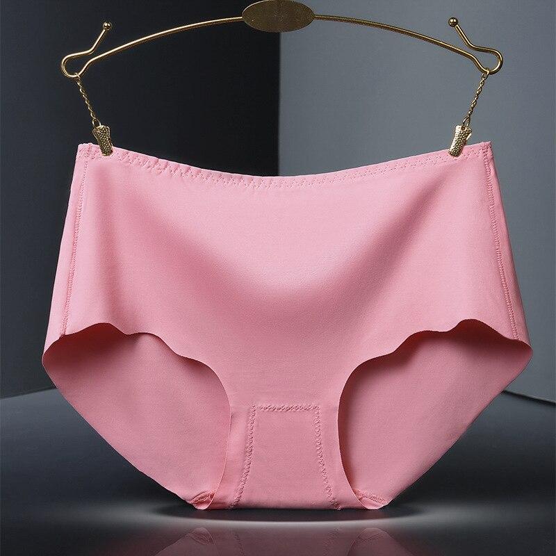 Однотонное мягкое женское нижнее белье большого размера 3XL из вискозы с гладкими оборками
