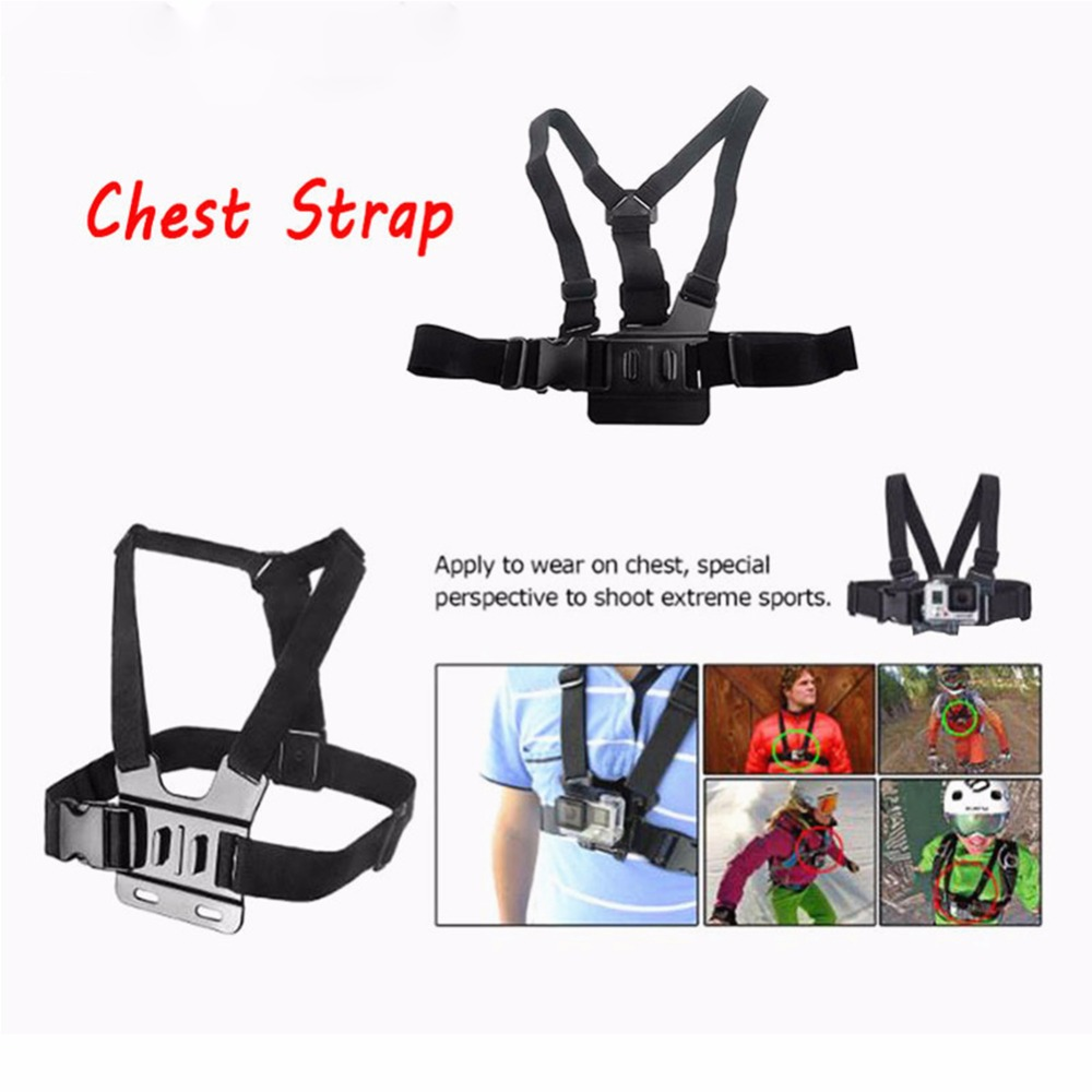 Chest Strap for GoPro three Way mount