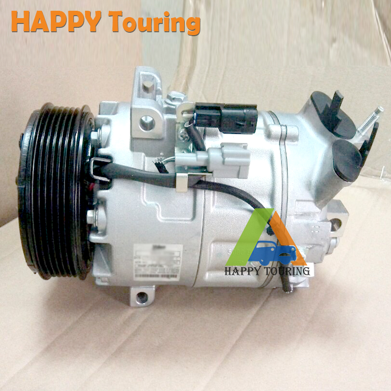 DCS17EC Compressor AC e embreagem para XTRAIL 2.0 07-13 X-TRAIL MR20DE 92600EN22A 92600EN22B 2 pcs compressor + 2 peças da embreagem