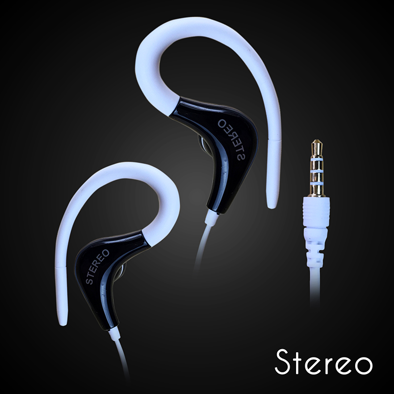 High quality Stereo sport earphone Headphones handsfree In-ear Headset 3.5mm mic Earbuds for all phone frees hipping