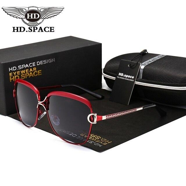3c4044df79 SPACE Luxury Sunglasses Women Brand Designer Female Retro Large Sun glasses  UV400 oculos de