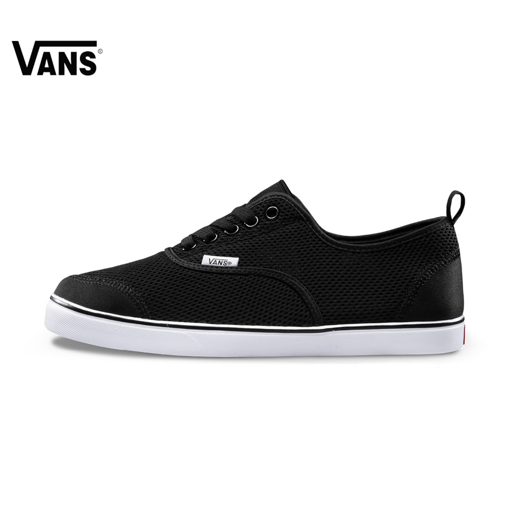 Original Vans New Arrival Summer Black Color Low-Top Men's Skateboarding Shoes Sport Shoes Sneakers free shipping