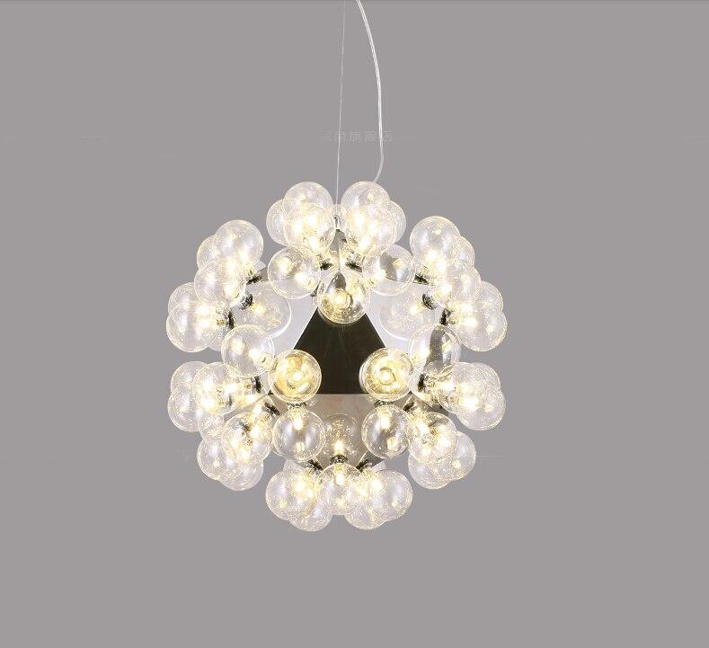 20/60 leuchtet Moderne Glas Pendelleuchten Design Achille Castiglioni Esszimmer Küche Lampe Leuchten LED G4 Lamparas Colgantes - 5