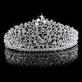 ZYLLGF Bridal Gorgeous Romantic Wedding Hats Hairwear Sparkling Crystal Silver Plated Bridal Pearl Hairband Accessories BH3