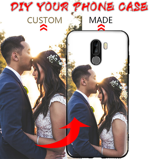 timeless design ae122 333fe US $3.9 |Xiaomi Pocophone F1 Poco F1 Case DIY Personalized custom photo  name Customize printing your design picture cover Phone Coque-in Fitted  Cases ...