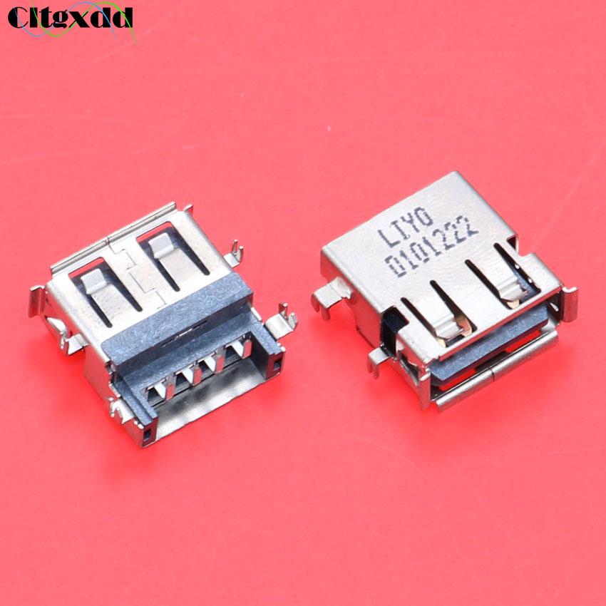 cltgxdd For Lenovo G455 G460 Z460 Z465 Z560 Z565 G530 A G L M G560 G565 N500 G460AX G460LX G460EX 2.0 USB jack port connectorcltgxdd For Lenovo G455 G460 Z460 Z465 Z560 Z565 G530 A G L M G560 G565 N500 G460AX G460LX G460EX 2.0 USB jack port connector