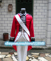 Axis Powers cosplay costume British War of independence Red military uniform Cosplay Costume Custom Made Any Size
