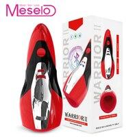 Meselo App Remote Control Male Masturbator 20 Modes Vibrator Oral Sex Toys For Men Intelligent Interaction Penis Trainer Product