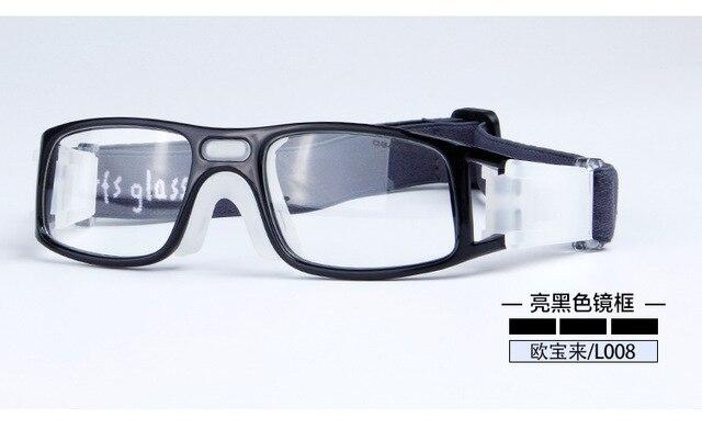 Открытый Профессиональный Баскетбол очки Футбол Спортивные очки очки рамка матч оптических линз близорукость близорукие L008