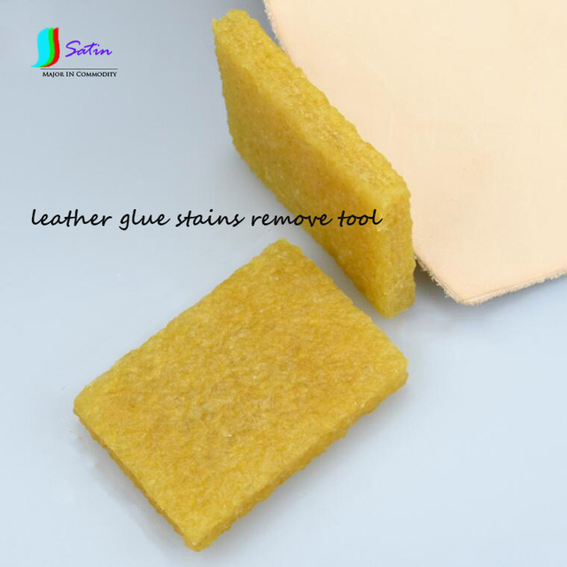 Leather Glue Stains Removal Rubber Sheet Wipe And Remove Diy