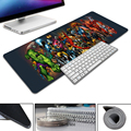 Marvel Comics Superheroes Collage Pad Mouse 700x300mm pad to Mouse Notbook Computer Mousepad best Gaming Mouse pad Gamer to lapt