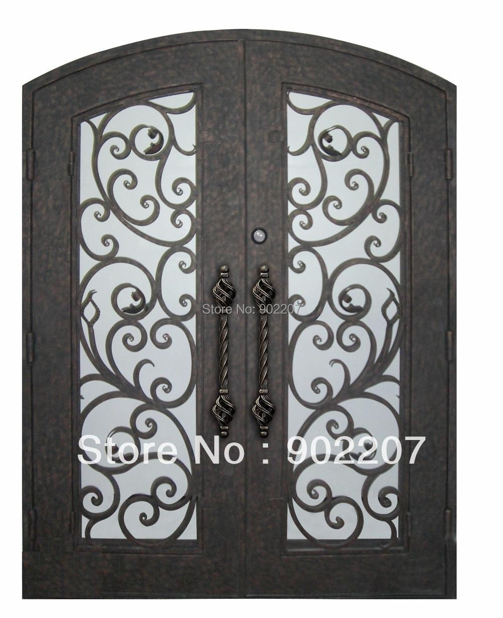 Custom Design Wrought Iron Entry Door Entrace Metal Door Id12 In