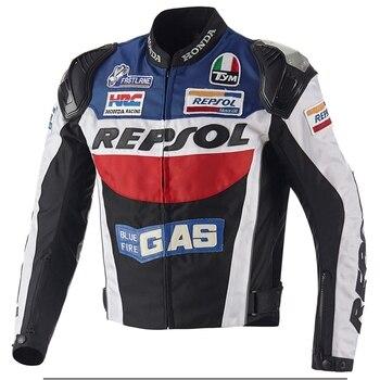 Бесплатная доставка, 1 шт., мужской защитный костюм для езды на мотоцикле, оксфордская куртка с 5 вставками 2