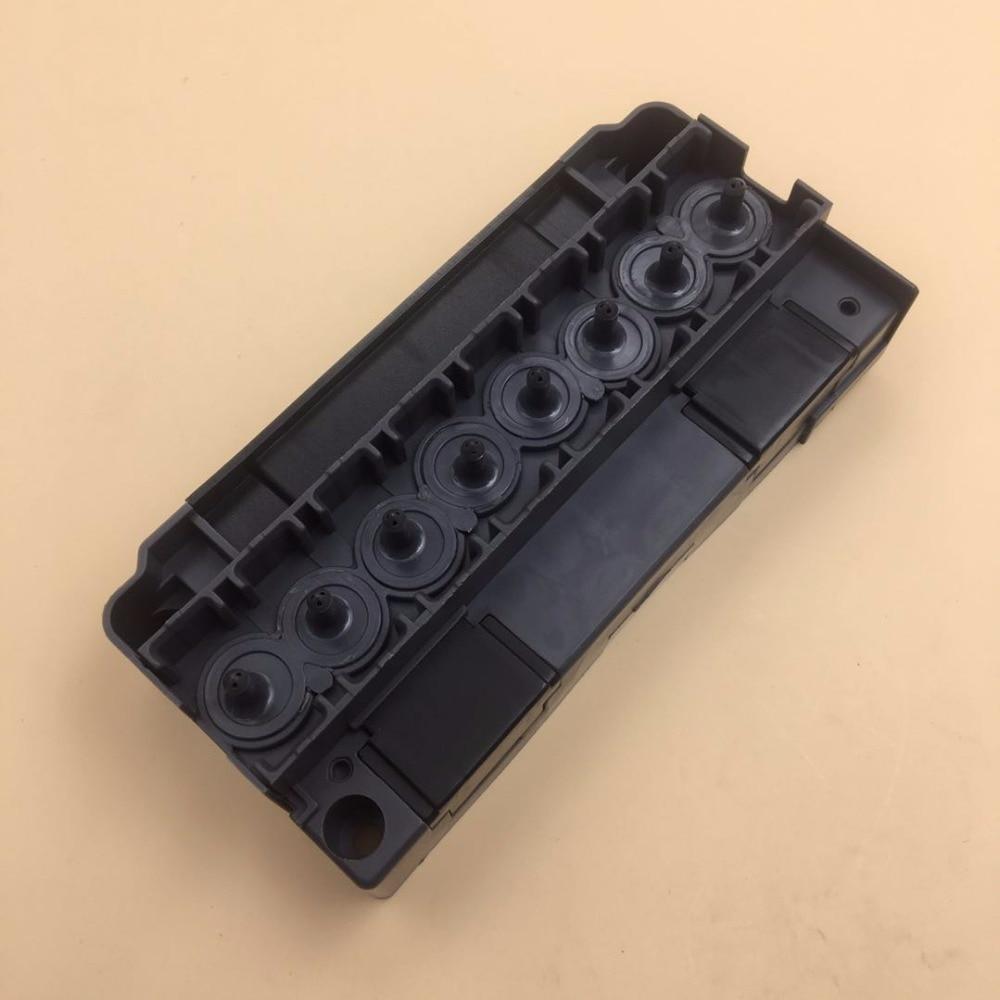 Printhead manifold adapter for Epson dx5 F186000 Mimaki galaxy allwin xuli crystaljet witcolor aifa inkjet printer
