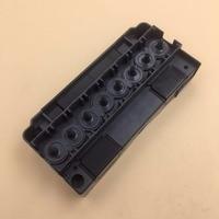 Printhead manifold adapter for Epson dx5 F186000 Mimaki galaxy allwin xuli crystaljet witcolor aifa inkjet printer head cover