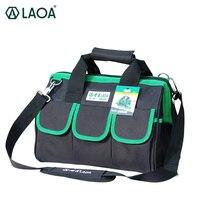 LAOA 600D Foldable Tool Bag Shoulder Bag Handbag Tool Organizer Storage Bag Water Proof Bags Storage