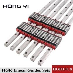Szyna liniowa prowadnica liniowa HGR15 HGR20 HGR25 cnc części i HGH15CA lub HGH20CC HGH25CA prowadnice liniowe blok HGW20CC hgh20
