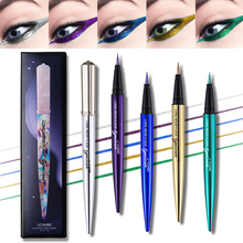 5 Colors Brand New diamond Glitter Eyeliner Pencil Long Wear Flash Shimmer Eye Liner Pen Makeup Silky Waterproof Cosmetics
