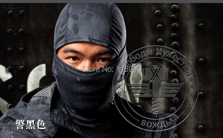 Krypteck Balaclava / Nově Battle Snake Camouflage Balaclava / Tacitcal hood