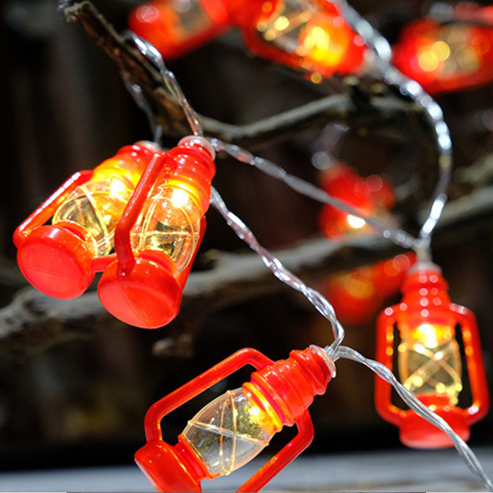 Christmas Lights Inspired Proposal: 2018 LED Water Oil Lamp String Lights Vintage Retro Style