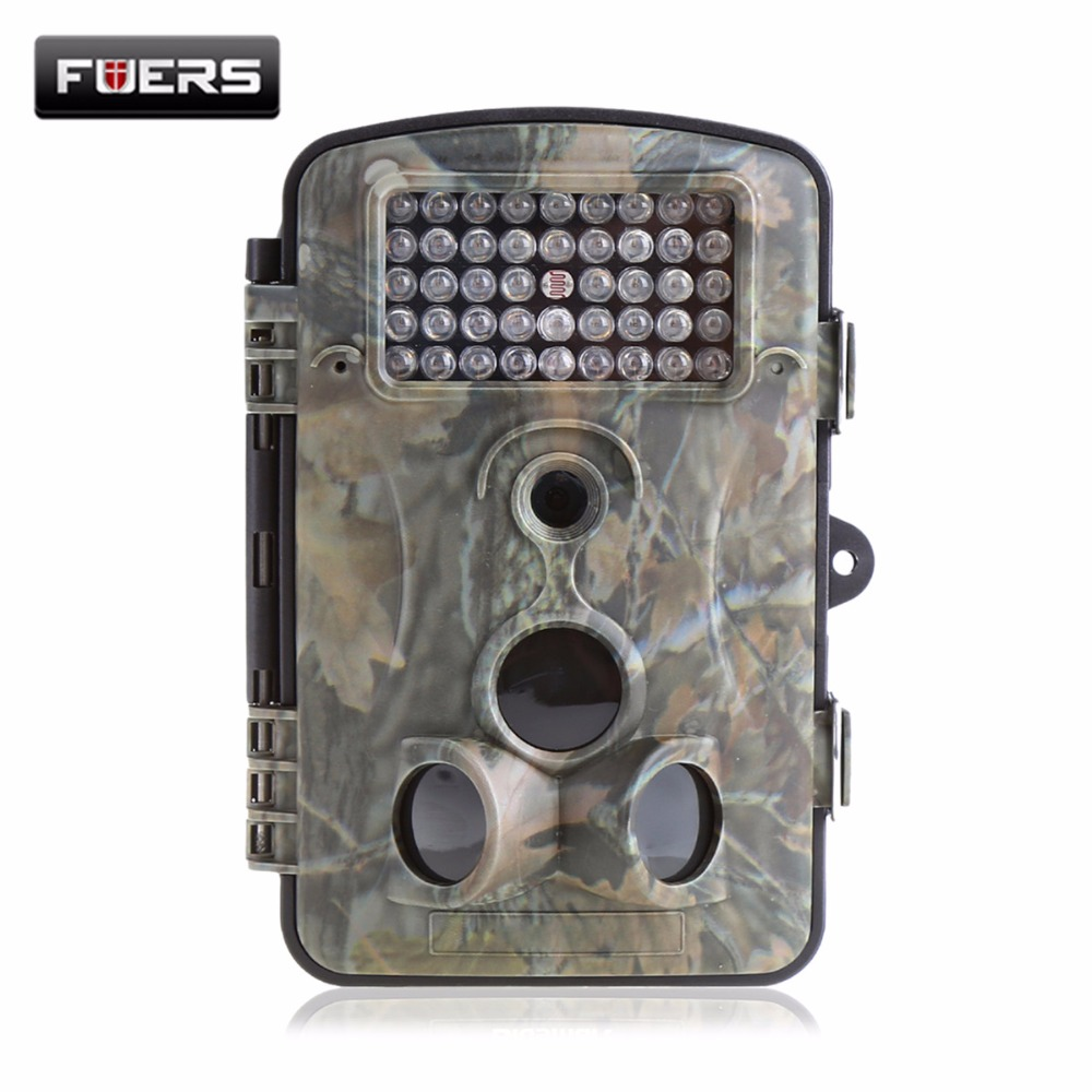 Fuers 1080P Hunting Cameras 0.2s Ultra-Fast Trigger with 42 IR LEDs 65ft 3 PIR Motion Photo Traps Video Trail Wildlife Cameras fast p
