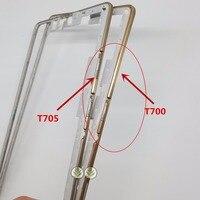 1PCS Border Front Bezel Housing Frame For Samsung Galaxy Tab S 8 4 SM T705 T705C