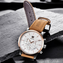 BENYAR Brand Luxury Mens Watches Reloj Hombre Fashion Sports Military Quartz Watch