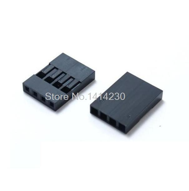 100PCS 2.54mm 4Pin 4P Dupont Connector Dupont Housing Plastic Shell Plug Dupont Jumper Wire Cable Pin Header