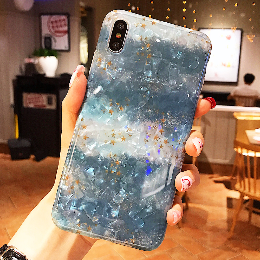 KIPX1120_13_JONSNOW Glitter Phone Case For iPhone X XR XS Max Cases Soft TPU Back Cover For iPhone 6S 6P 7 8 Plus Cover Case
