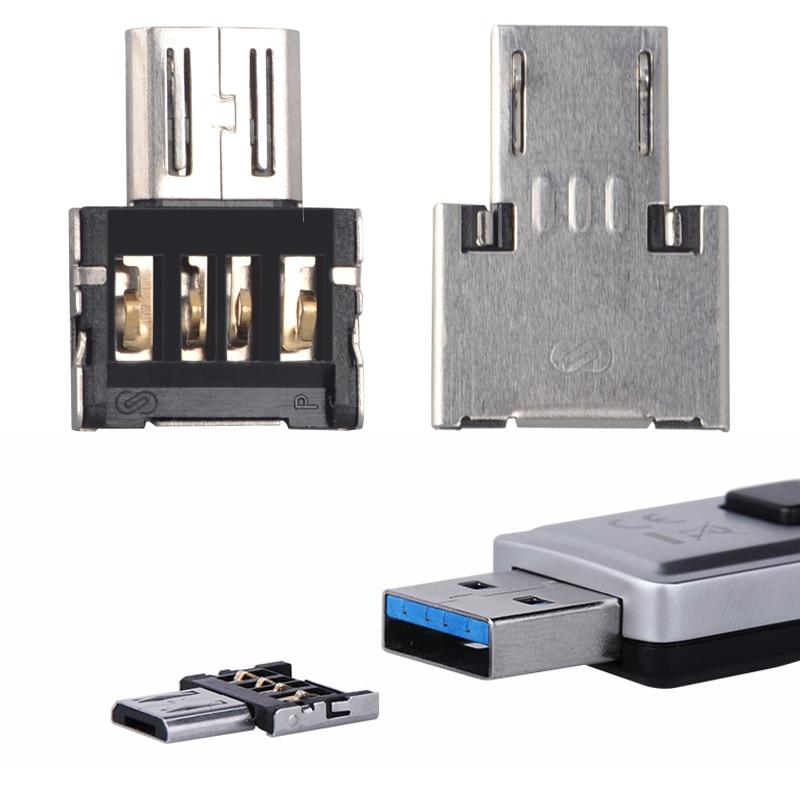 OTG Adapter USB to Micro USB Converter