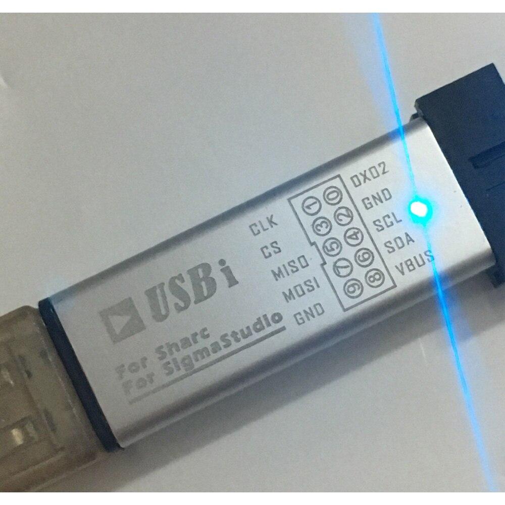 Lusya USBi SIGMASTUDIO emulador queimador EVAL-ADUSB2EBUZ para