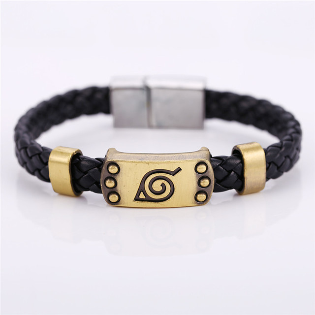 Naruto Konoha Weave Bracelet